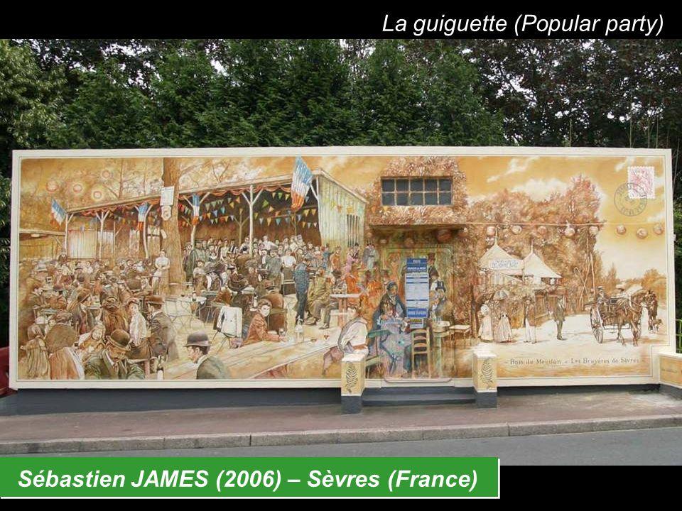 Sébastien JAMES (2006) – Sèvres (France) La guiguette (Popular party)