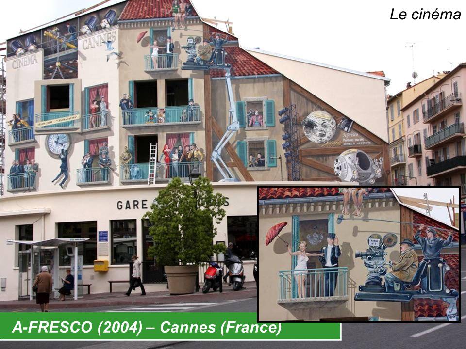 A-FRESCO (2004) – Cannes (France) Le cinéma