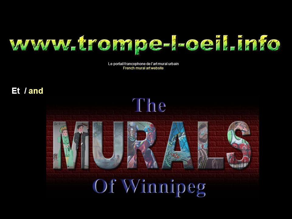 Le portail francophone de lart mural urbain French mural art website Et / and