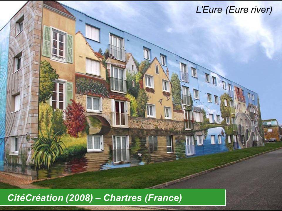 CitéCréation (2008) – Chartres (France) LEure (Eure river)