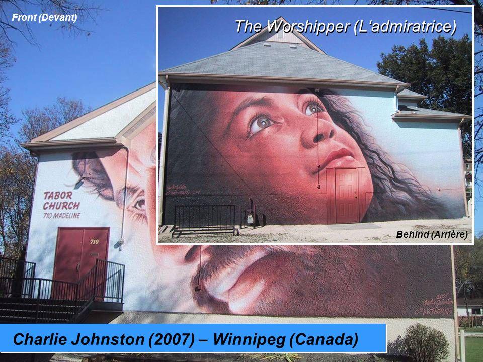 Charlie Johnston (2007) – Winnipeg (Canada) Jésus The Worshipper (Ladmiratrice) Front (Devant) Behind (Arrière)