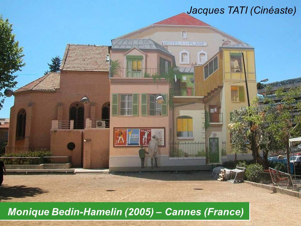 Monique Bedin-Hamelin (2005) – Cannes (France) Jacques TATI (Cinéaste)