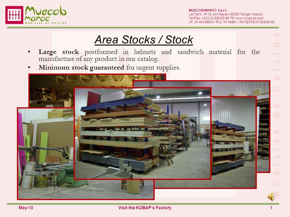 Area Stocks / Stock 1 MUECOB MAROC S.a.r.l.