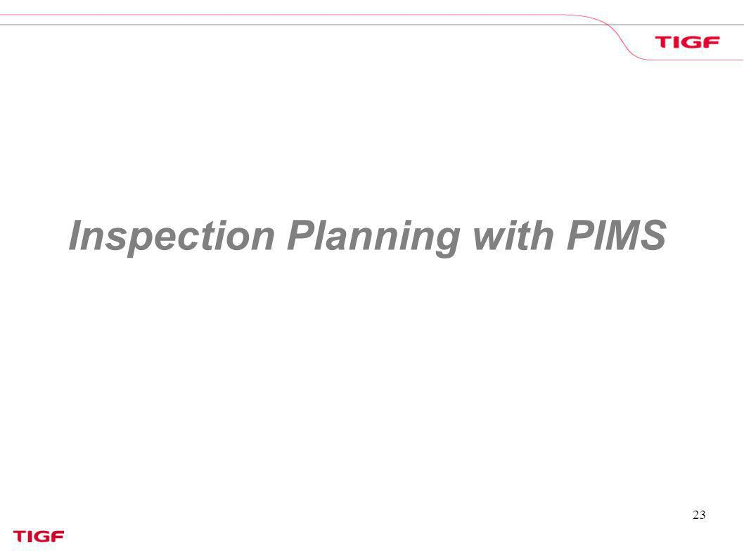 23 Inspection Planning with PIMS