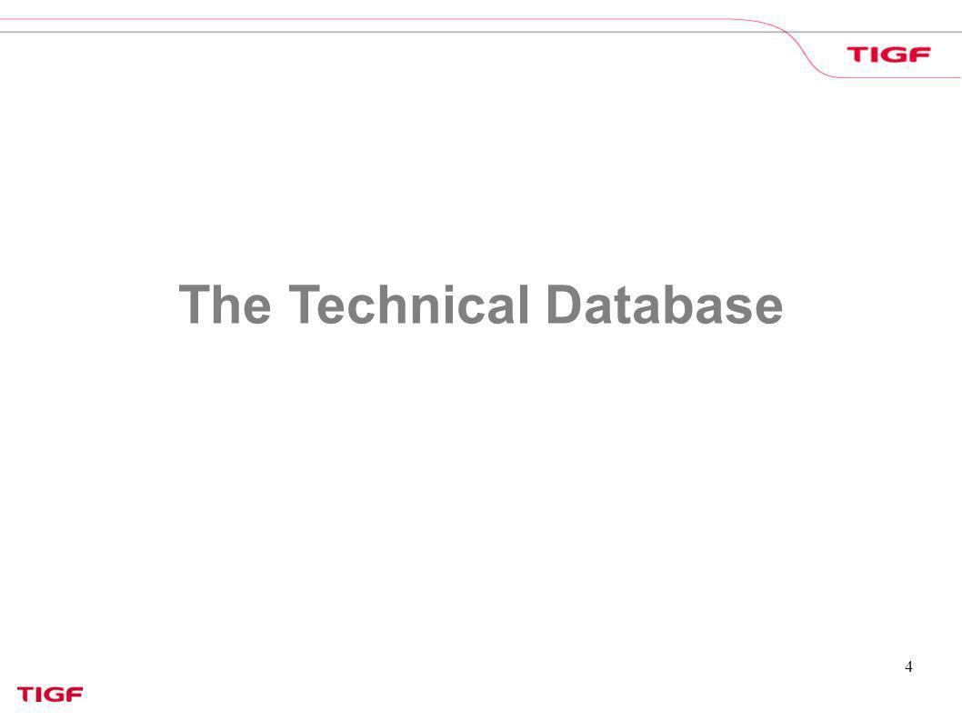 4 The Technical Database