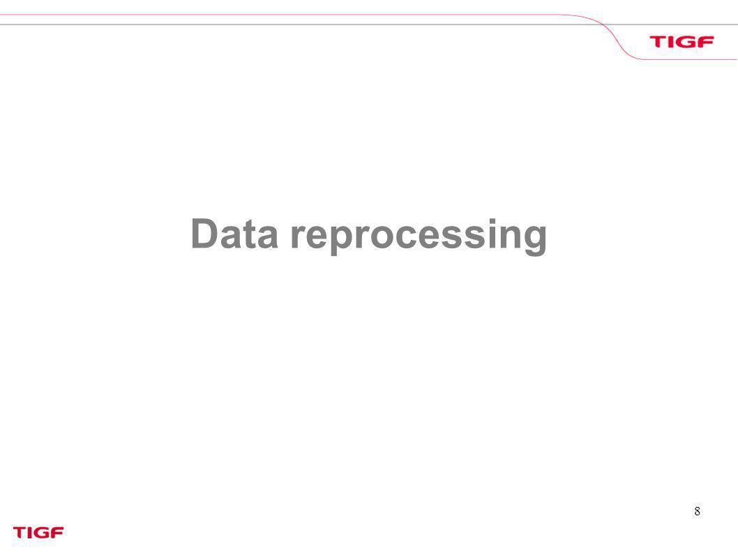 8 Data reprocessing