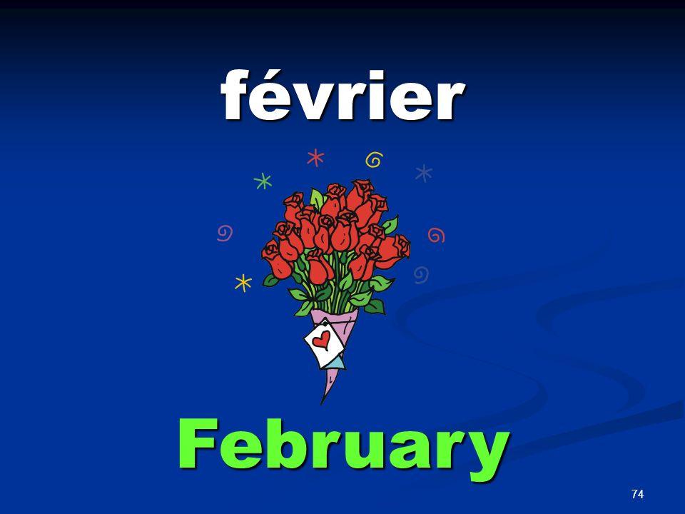 74 février February