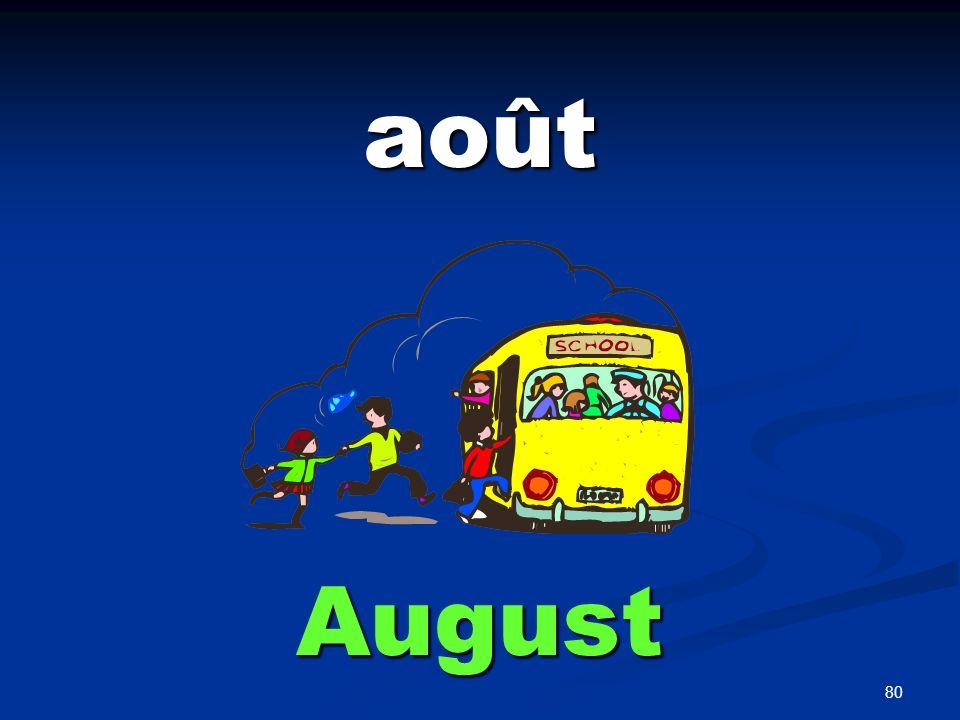 80 août August