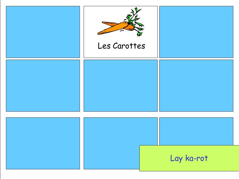 Les Carottes Lay ka-rot