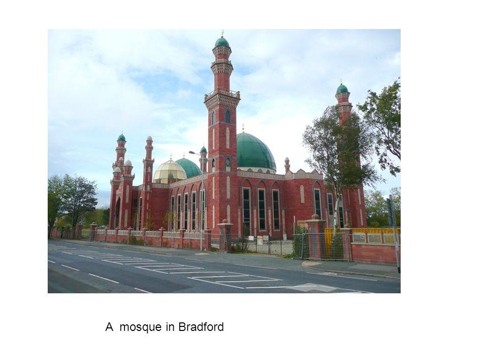 A mosque in Bradford