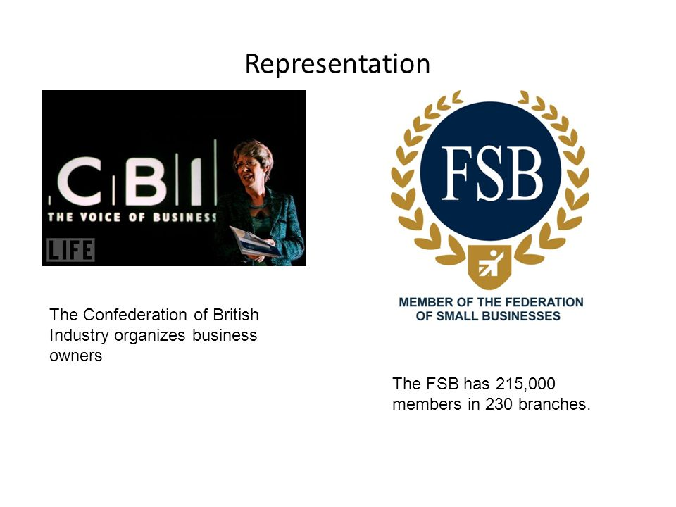 Representation The FSB has 215,000 members in 230 branches.