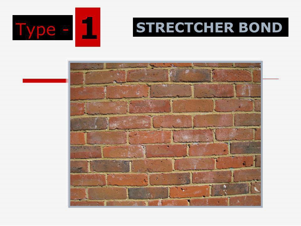 Type - 1 STRECTCHER BOND