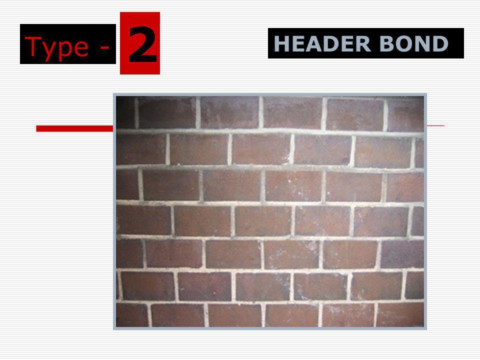 Type - 2 HEADER BOND