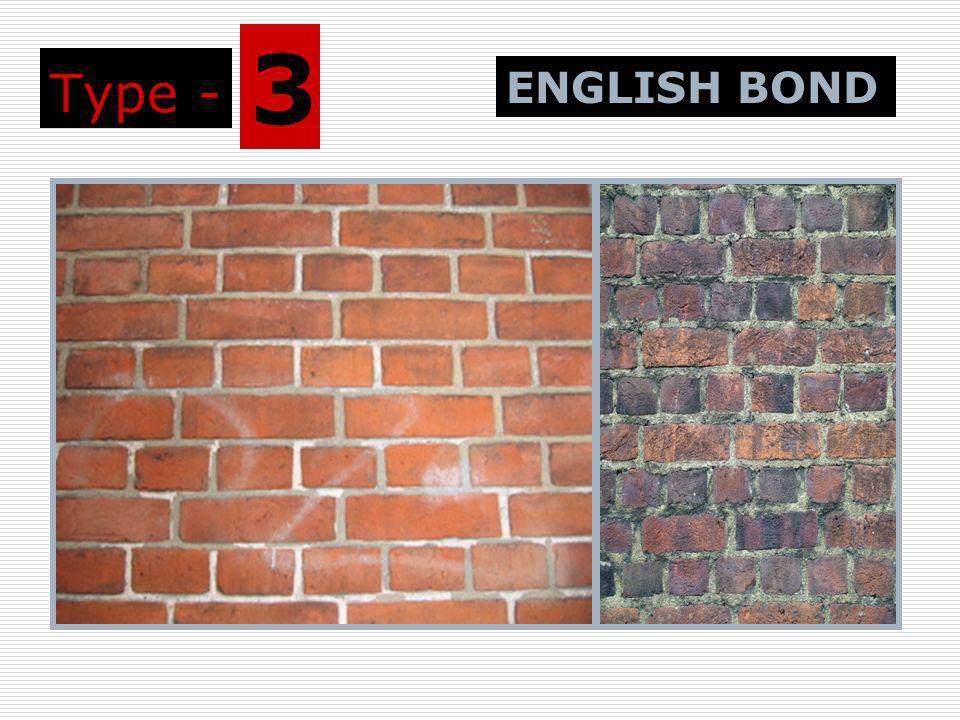 Type - 3 ENGLISH BOND