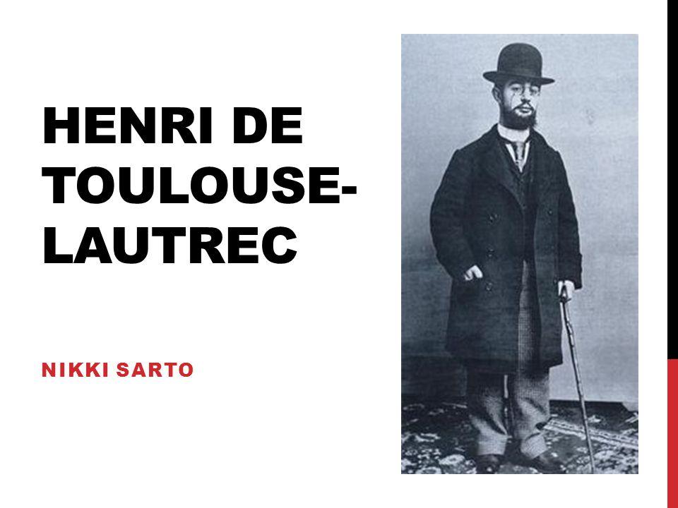 HENRI DE TOULOUSE- LAUTREC NIKKI SARTO