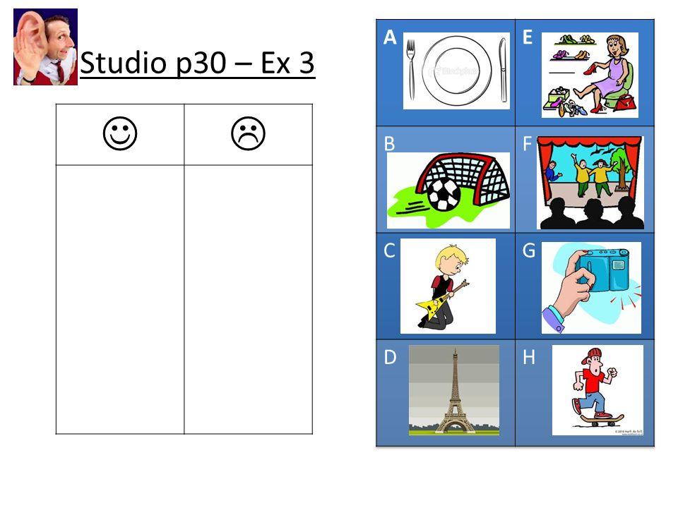 Studio p30 – Ex 3