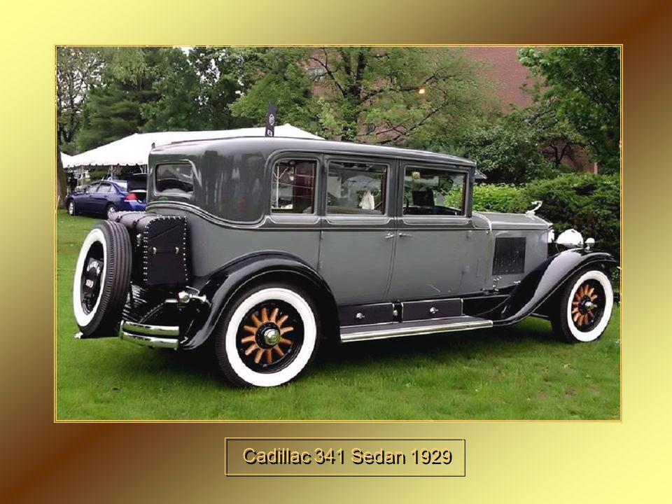 Cadillac 341 Sedan 1929