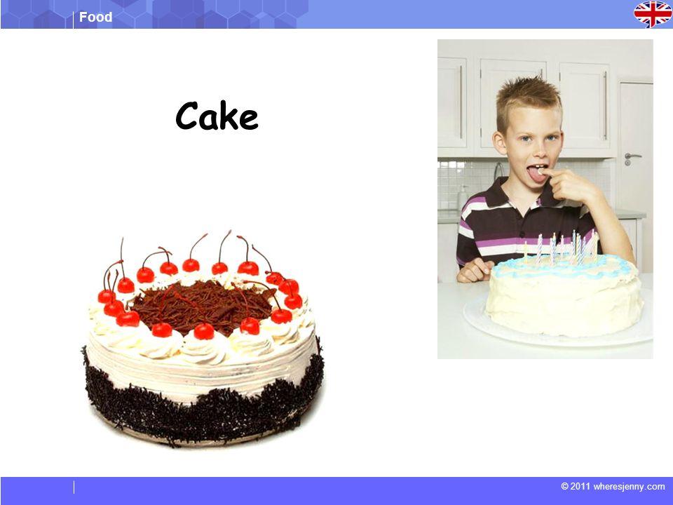 Food © 2011 wheresjenny.com Match the words to the correct picture (Faites correspondre les mots à l image correcte) a.