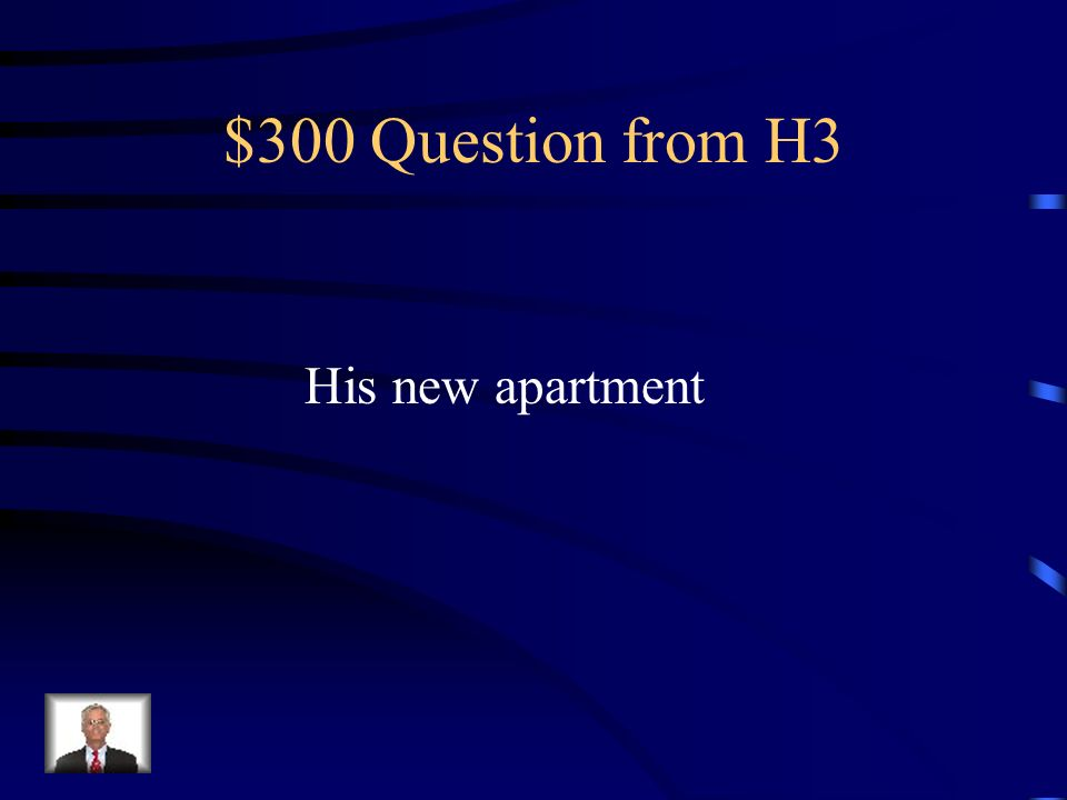 $200 Answer from H3 Son appartement
