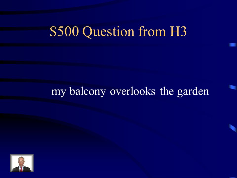 $400 Answer from H3 leurs appartements