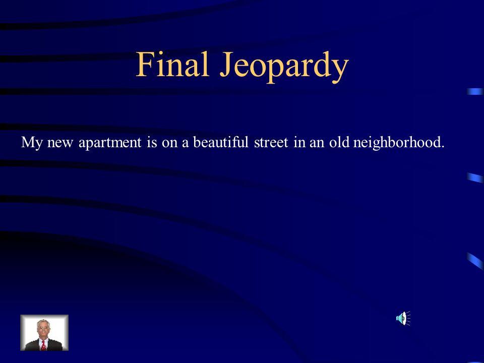 $500 Answer from H5 leurs nouveaux voisins (OR) Leurs nouvelles voisines
