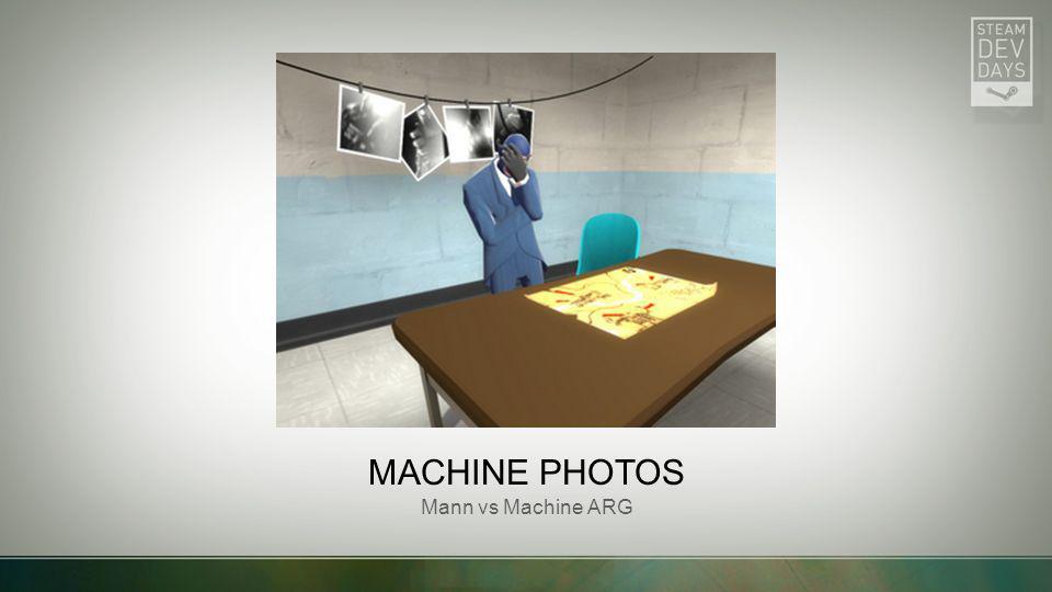 MACHINE PHOTOS Mann vs Machine ARG