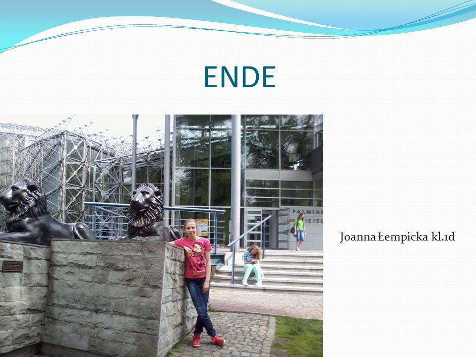 ENDE Joanna Łempicka kl.1d