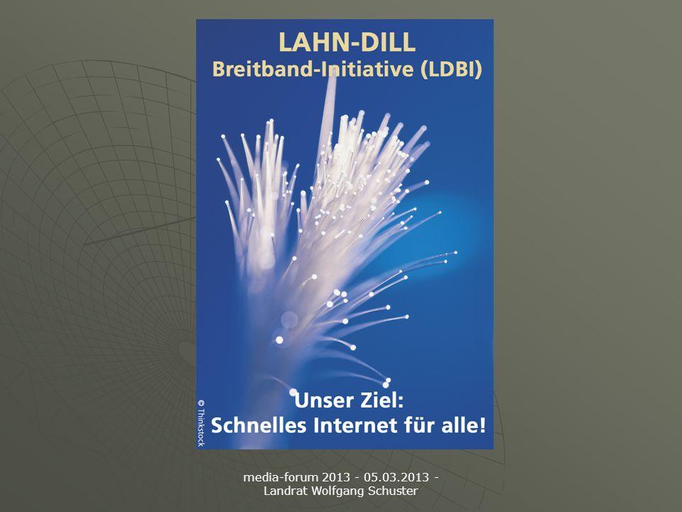 media-forum 2013 - 05.03.2013 - Landrat Wolfgang Schuster
