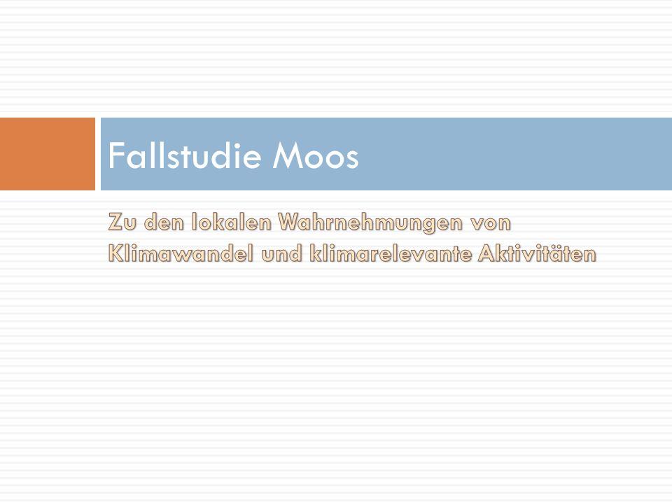 Fallstudie Moos