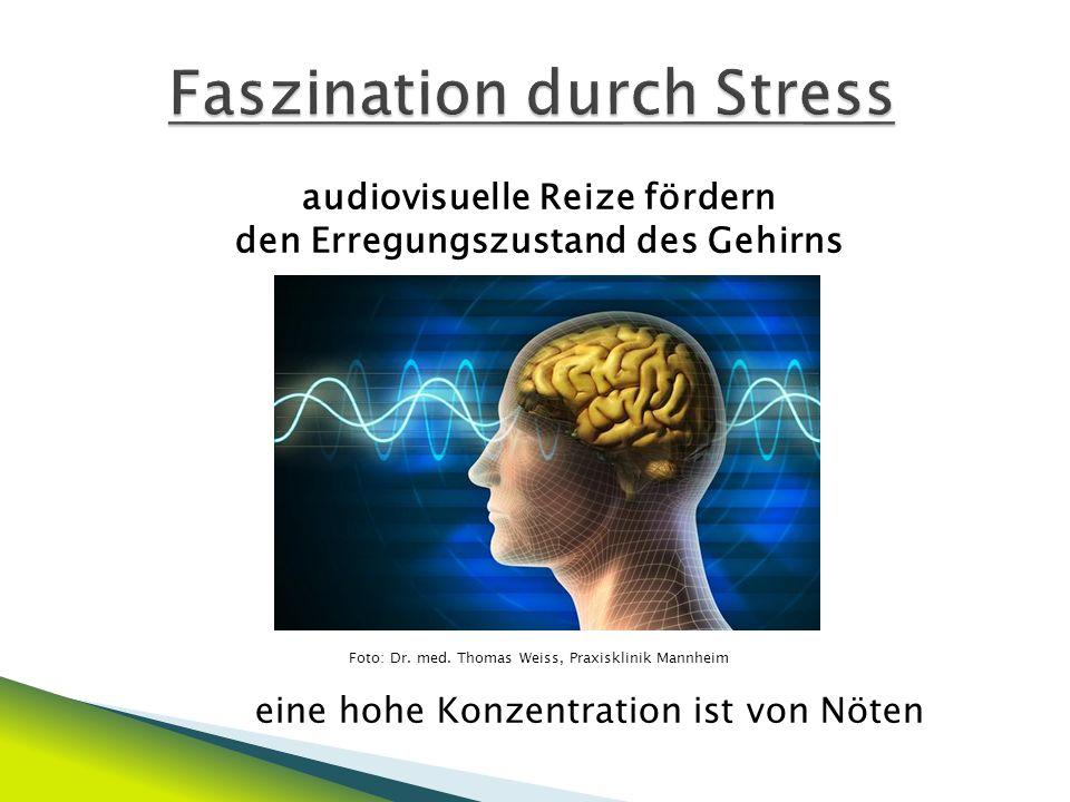 Stresshormone werden ausgeschüttet Foto: http://www.uniklinik-freiburg.de/onlinemagazin/live/forschung/epilepsieb/epilepsieba1.jpg Je höher die Bedrohungssituation und emotionale Bindung an den Avatar ist, desto höher das Stressniveau