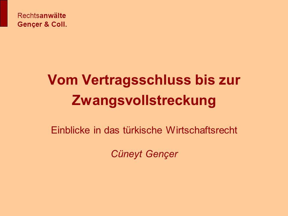 Freihandelszonen Rechtsanwälte Gençer & Coll.
