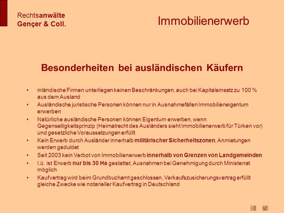 Aufenthaltserlaubnis und Arbeitsgenehmigung Rechtsanwälte Gençer & Coll.