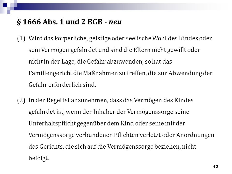 § 1666 Abs.