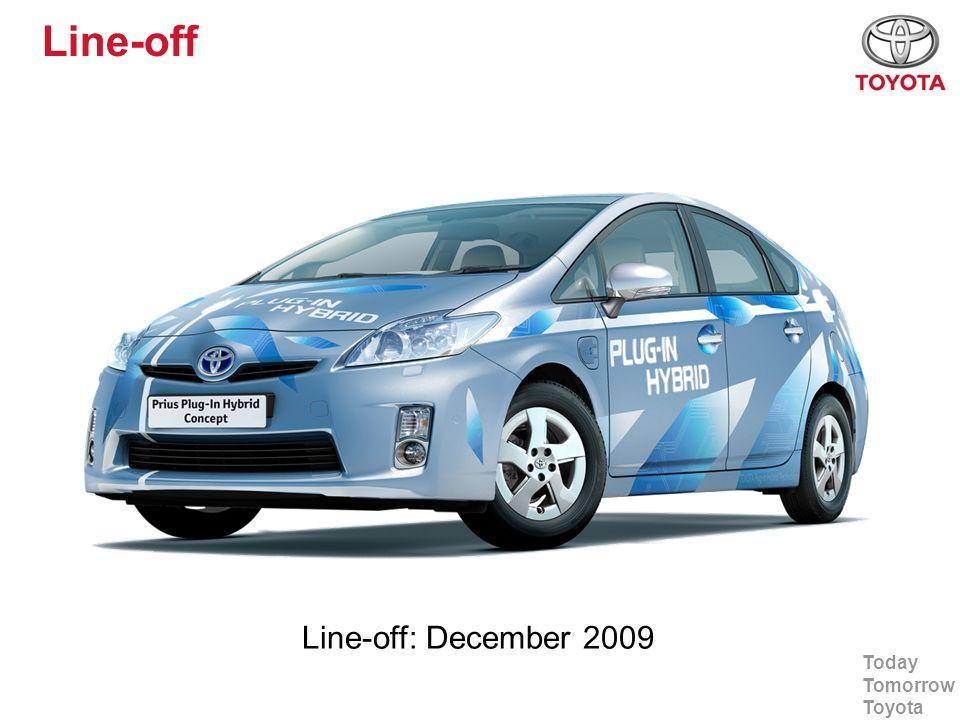 Today Tomorrow Toyota PHV Countries 600 PHV s Japan:230 Europe:200 USA:150 Canada:.