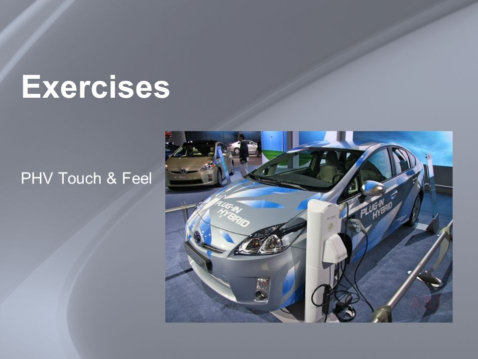 Exercises PHV Touch & Feel