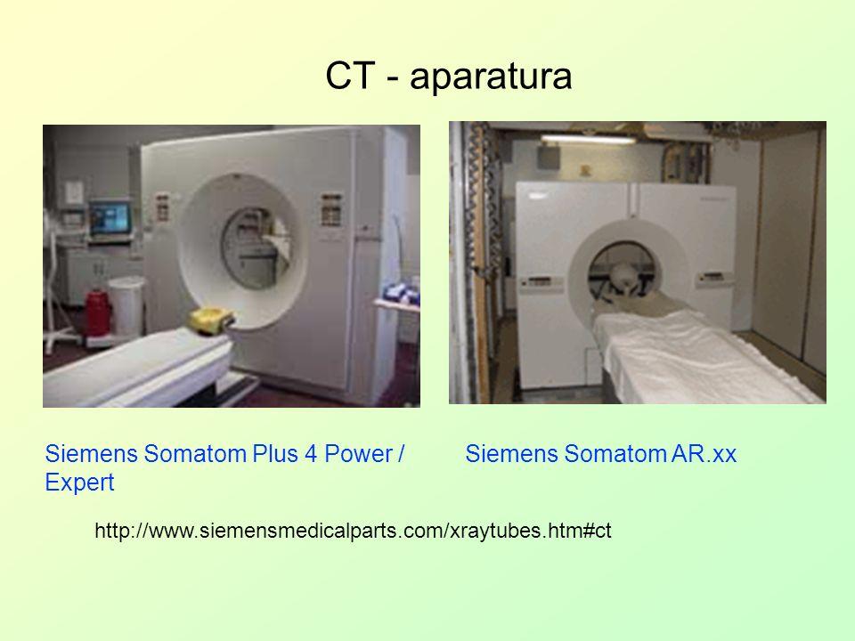 CT - aparatura Siemens Somatom Plus 4 Power / Expert http://www.siemensmedicalparts.com/xraytubes.htm#ct Siemens Somatom AR.xx