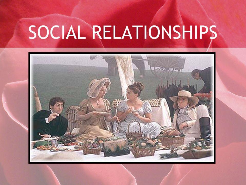 SOCIAL RELATIONSHIPS