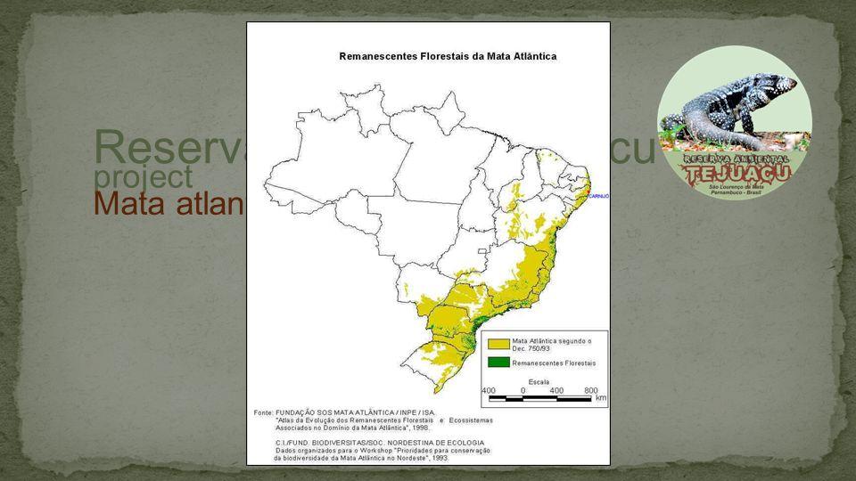 project Reserva Ambiental tejuacu Mata atlantica