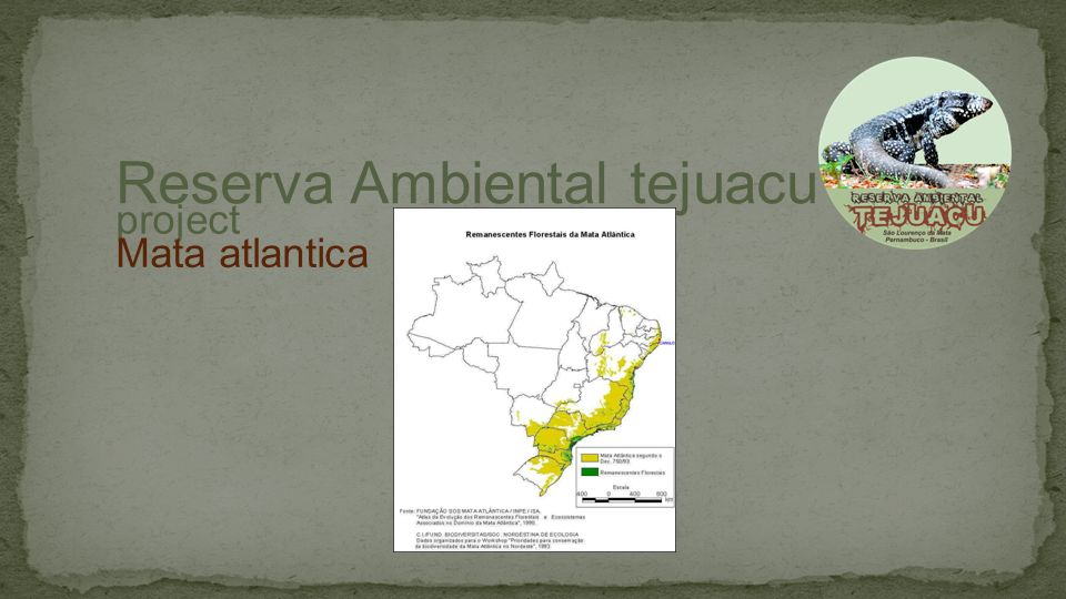 Located in Aldeia – Chã da Tábua in the city of São Lourenço da Mata, state of Pernambuco, Northeast of Brazil Over 150 thousand species of trees distributed on over 2 hectares Recognised as a National Reserve part of the National Natural Assets.