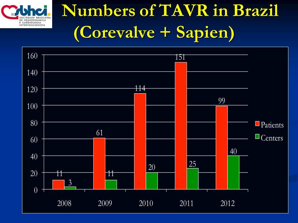 Brazilian TAVI Registry Real World Registry.Real World Registry.