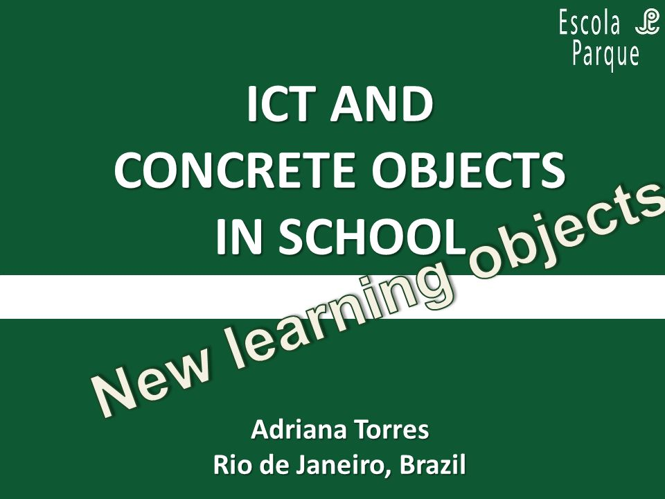 PARA PENSAR, ENQUANTO SE PLANEJA: Practical experiences in primary school Projects gathering ITC to low-technology Empower concrete material experiences Depth, wide and focus ABSTRACT