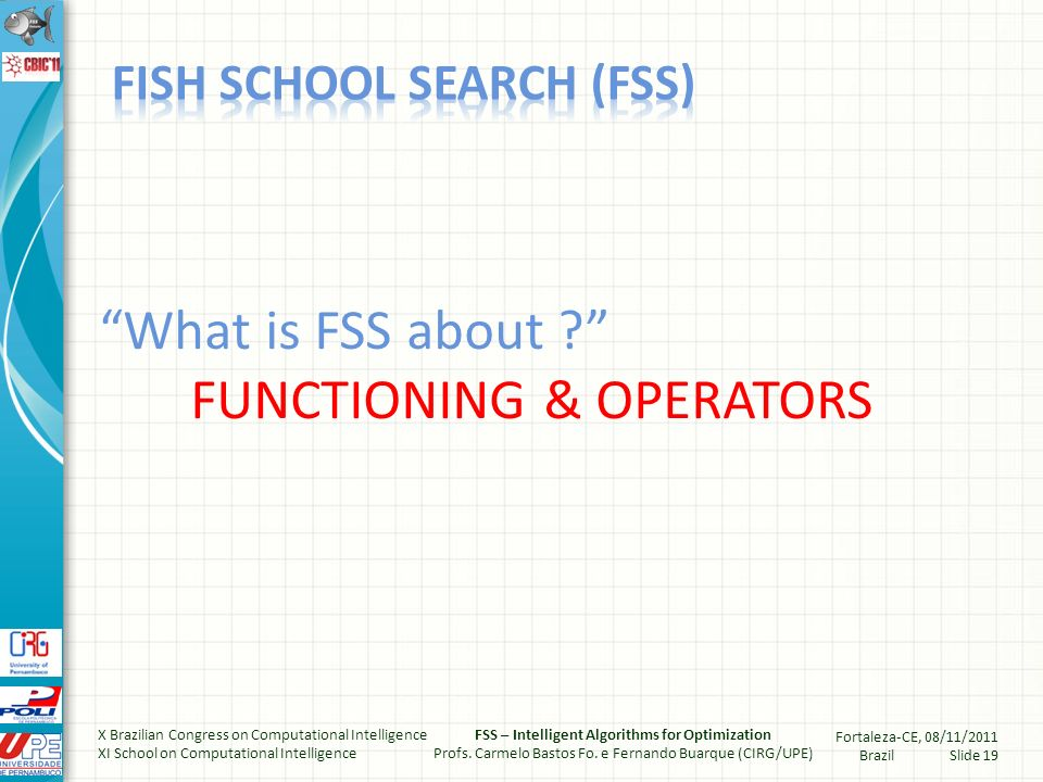 What is FSS about .
