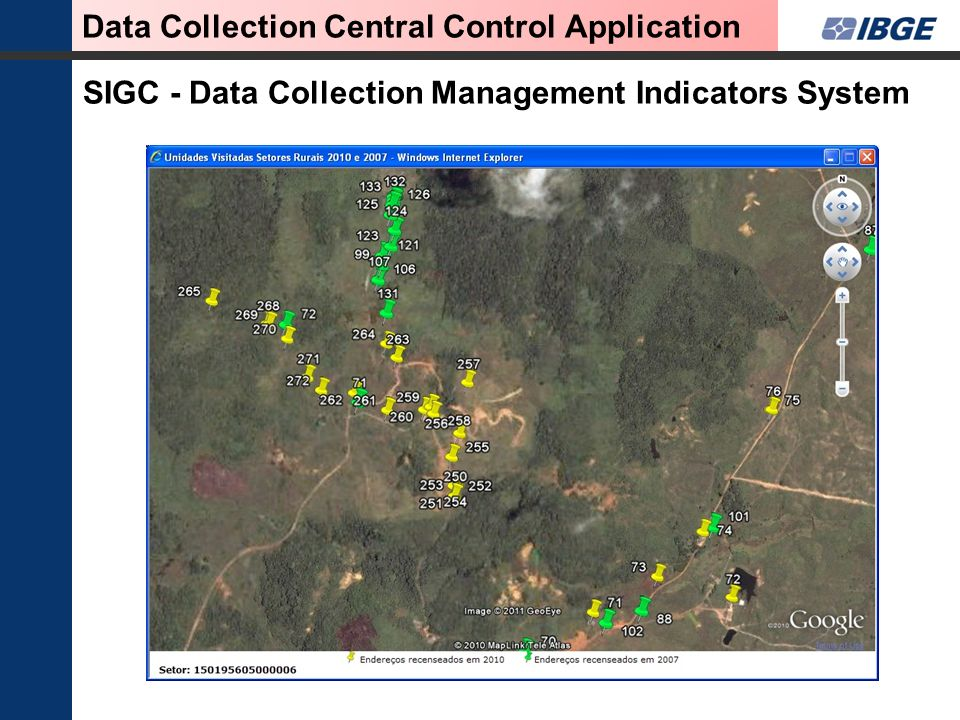 SIGC - Data Collection Management Indicators System Data Collection Central Control Application
