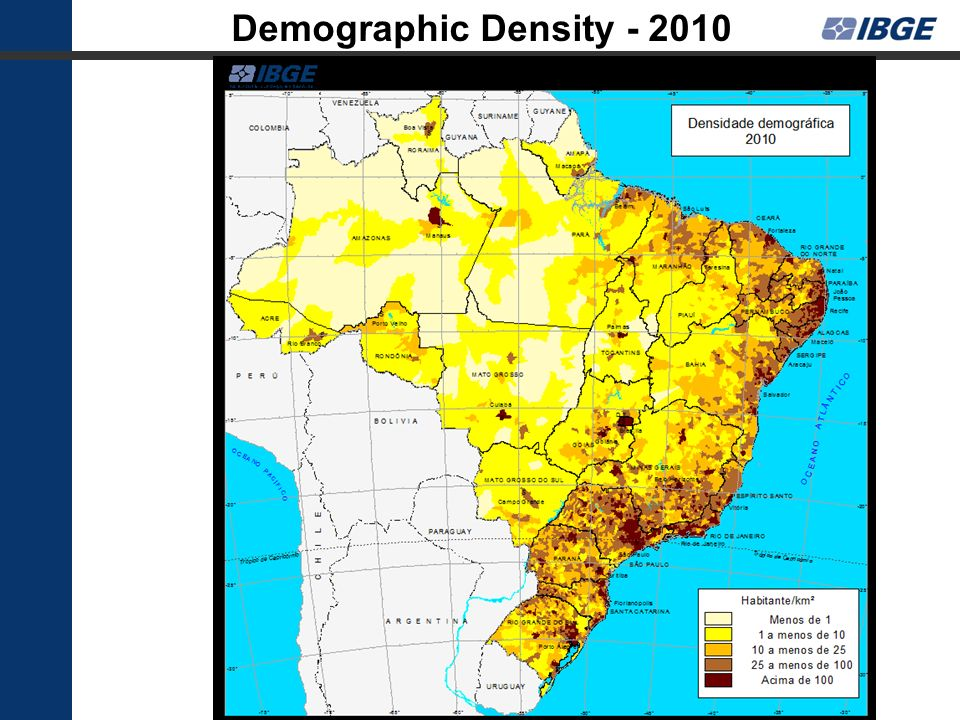 Demographic Density - 2010