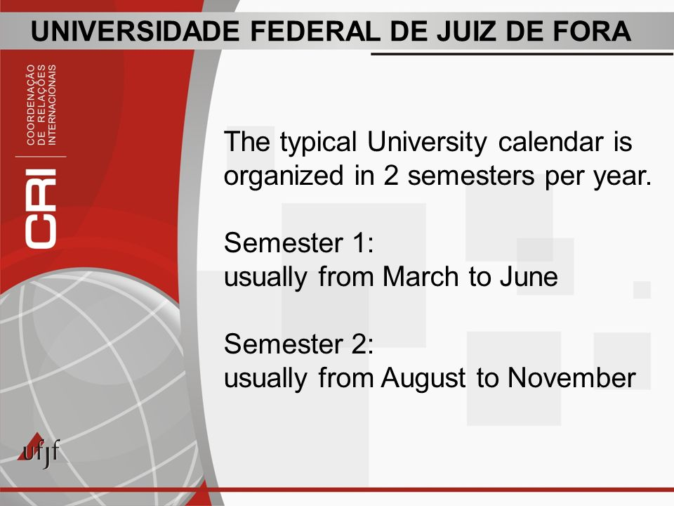 UNIVERSIDADE FEDERAL DE JUIZ DE FORA During its 60 years of existence, UFJF has been working to accomplish its mission, which is to produce, systematize and socialize philosophical, scientific, artistic and technological knowledge, increasing and deepening the formation of human beings for professional practice, critical reflection, national and international solidarity, under the perspective of developing a fair and democratic society and defending quality of life.