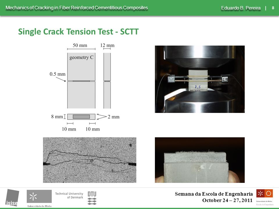 8 | Mechanics of Cracking in Fiber Reinforced Cementitious Composites Eduardo B.
