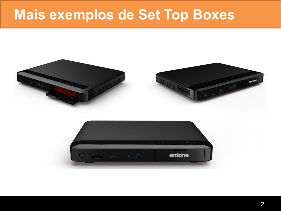 connecting the home Set Top Boxes Híbridos 3 -Hybrid Cable (DVB-C/QAM)