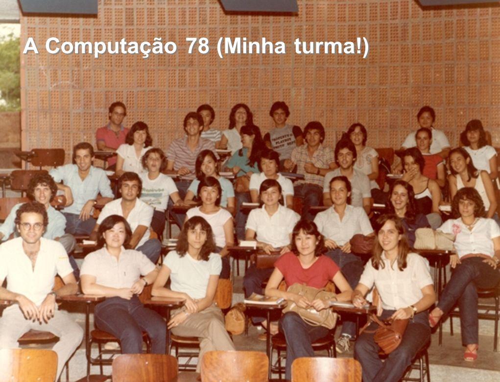 Tellabs Confidential – For Internal Use only. DO NOT DISTRIBUTE 2 A Computação 78 (Minha turma!)