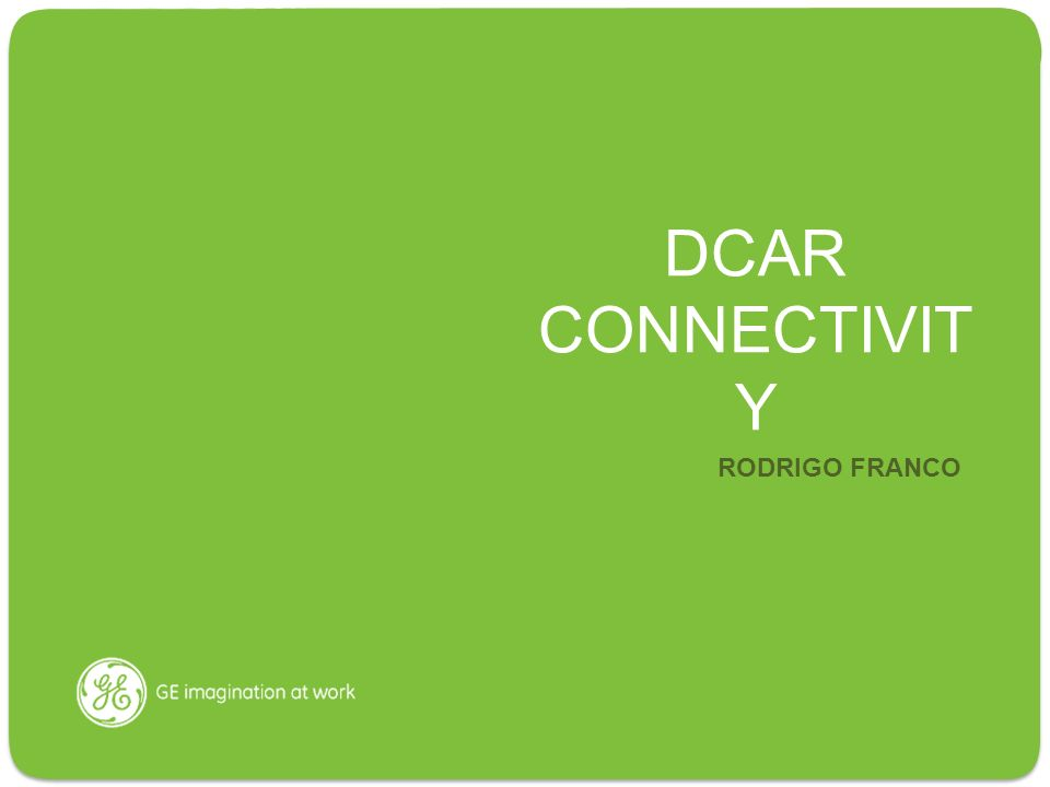 DCAR CONNECTIVIT Y RODRIGO FRANCO