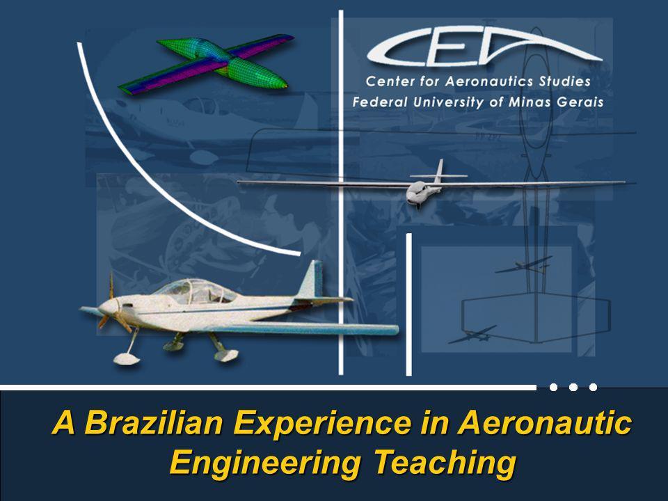 Center for Aeronautics Studies Federal University of Minas Gerais - Brasil A Brazilian Experience in Aeronautic Engineering Teaching